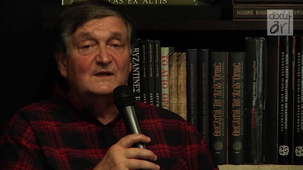 """Literatura de azi"""" la Librăria Bizantină cu Alex Ştefănescu - Docuart"""