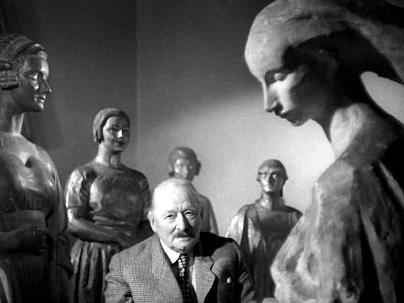 """Imagine din """"Idę do słońca"""" (1955, R.: Andrzej Wajda)"""