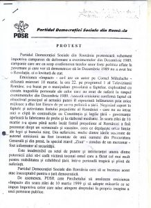 Protest PDSR - pg. 1