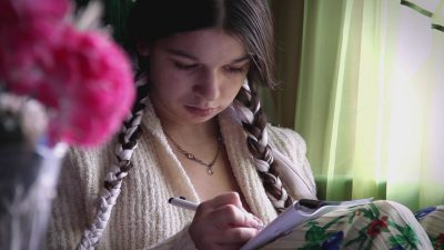 """Angela"" – portretul unei fete rome"