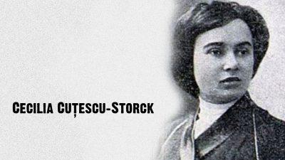 #eroiuitati: Cecilia Cuțescu Storck