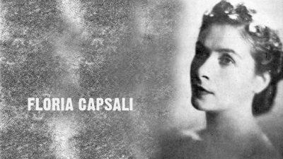 #eroiuitati: Floria Capsali