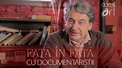 Față în față cu documentariștii: Florin Andreescu